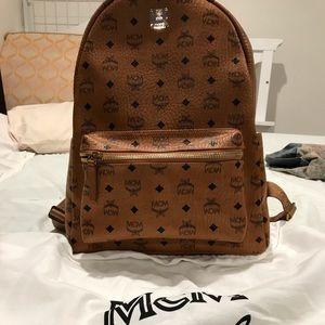 7f2e9236c MCM Bags   Stark Classic Backpack In Visetos   Poshmark